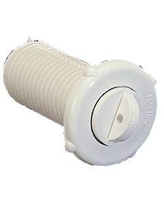 Aleggio plastica a vite + guarnizione Ø 27 mm