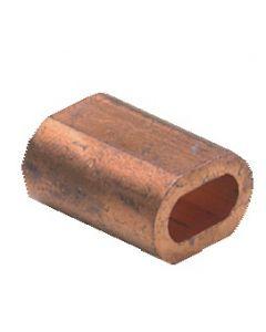 Manicotto in rame Ø 3 mm, per 4