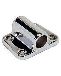 Supporto in ottone cromato laterale Ø 12 mm