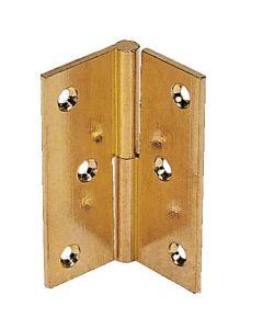 Cerniera per porta a battente in ottone lucido