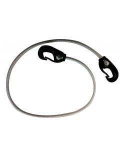 Corda elastica con gancio nylon