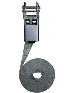 Cinghia di fissaggio a cricchetto Modello semplice 25mm, L : 5m, R : 1000Kg