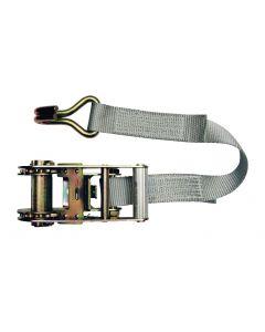 Cinghia di fissaggio a cricchetto Modello in 2 parti 35mm, L : 6m, R : 2500Kg