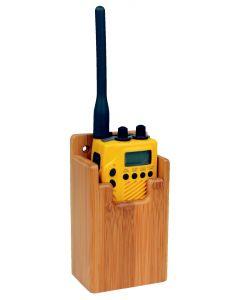 Accessori per interni in Bambù Supporto GPS e VHF 68x140x45mm