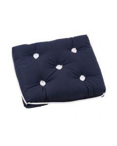 Cuscino Kapok blu