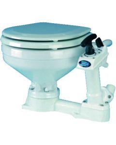 WC marino Tazza in porcellana, copri wc in legno