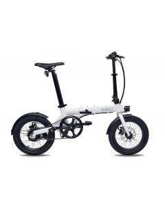 Bici elettrica City Eovolt Blanc nacré