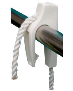 Clips porta parabordi per tubo 20-25mm