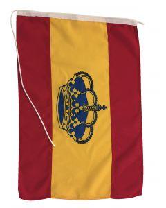 Pavillon en étamine de polyester Espagne couronne
