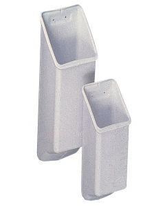Porta maniglie in PVC Forma angolare 270 x 70 x 60 mm