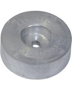 Anodo a piastrina ø125 mm, 2.7 kg