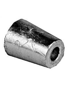 Anodo ogiva radice Asse Ø 25 mm