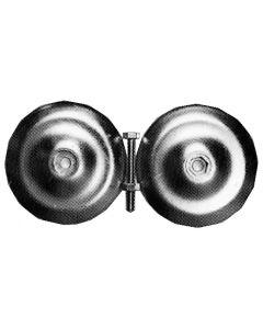 Anodo circolare Ø 128 mm, peso 1,125 kg