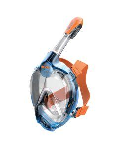 Maschera Magica Taglia XL/L,  Blu-arancio