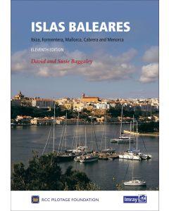 Guida Imray Mediterraneo Mediterranean Spain Islas Baleares