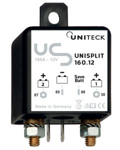 Accoppiatore/ separatore di batteria
