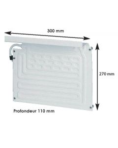 Evaporatore frigo max 100 L per gruppo freddo BD35F