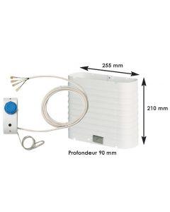 Evaporatore frigo max 130 L per gruppo freddo BD35F