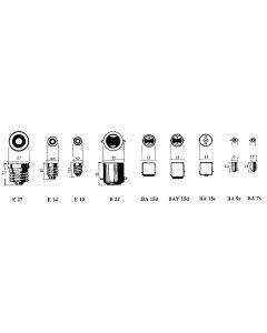 Ampoules classiques