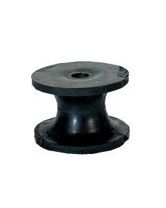 Puleggia per musone Ø 63.5 mm l 43mm, Ø asse 10mm