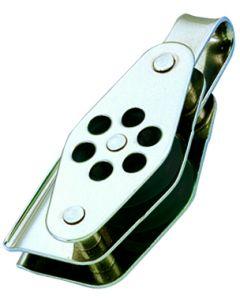 Bozzelli inox Doppio anello arricavo e strozzatore Ø da 4 a 6 mm