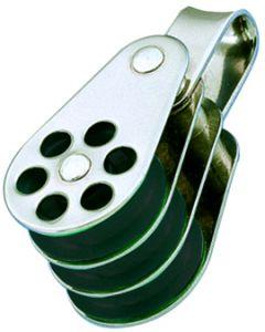 Bozzelli inox Triplo anello Ø da 4 a 6 mm