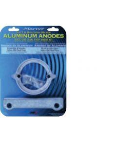 Anodi in alluminio Volvo 280 Dual Prop