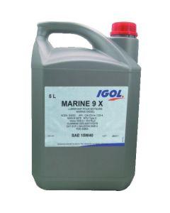 Huile Marine 9X 15w40