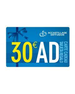 Carte regalo 30 €