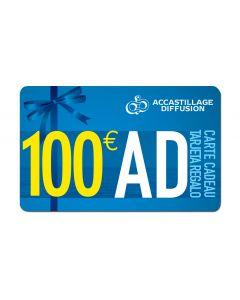 Carte regalo 100 €